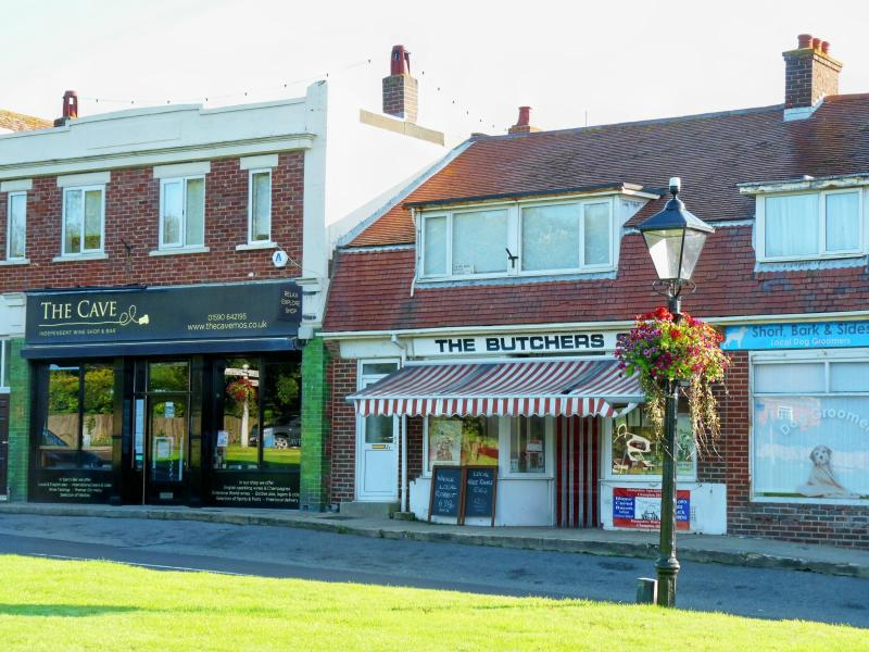 The village's independent shops around the Green