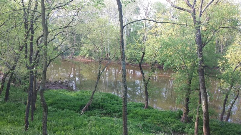 The scenic Monocacy River only steps from your front door!
