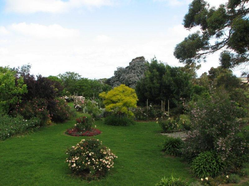 View of Gardens from Jilba Cottage Deck