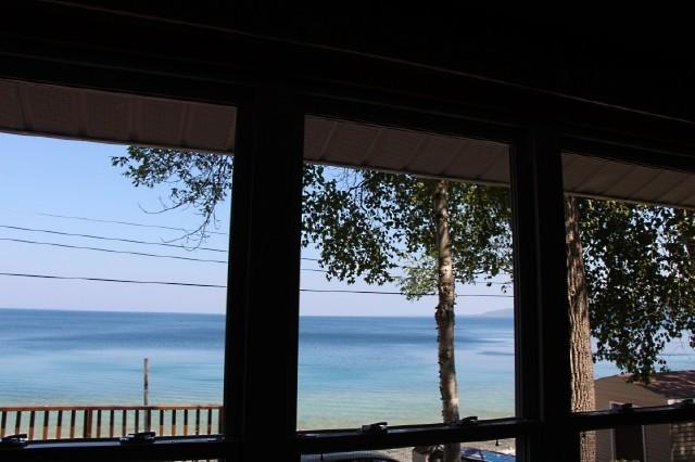 Vista desde la ventana de la sala de estar