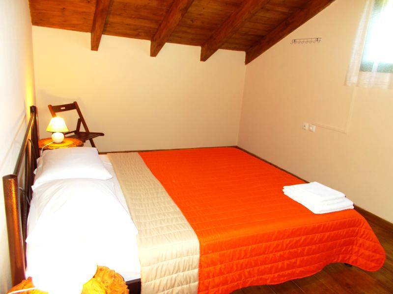 Kingsize bedroom in the attic