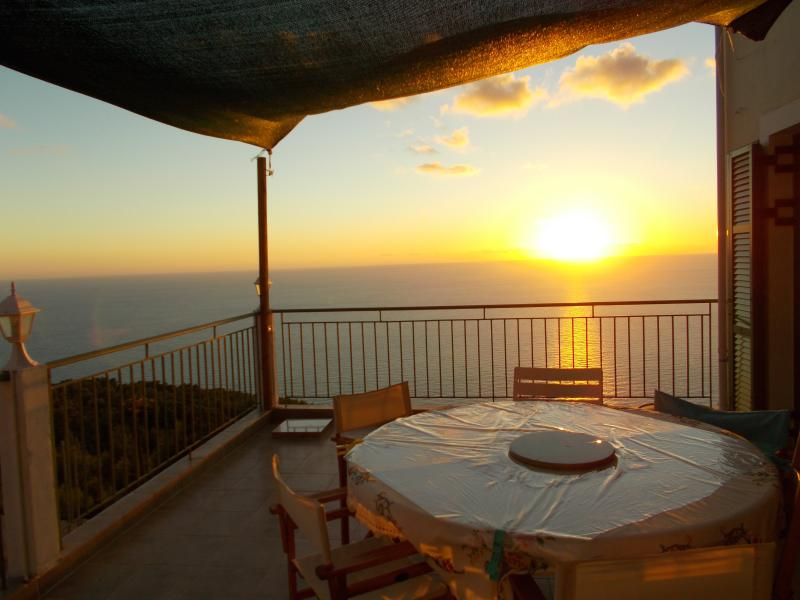 Magical sunset from the veranda