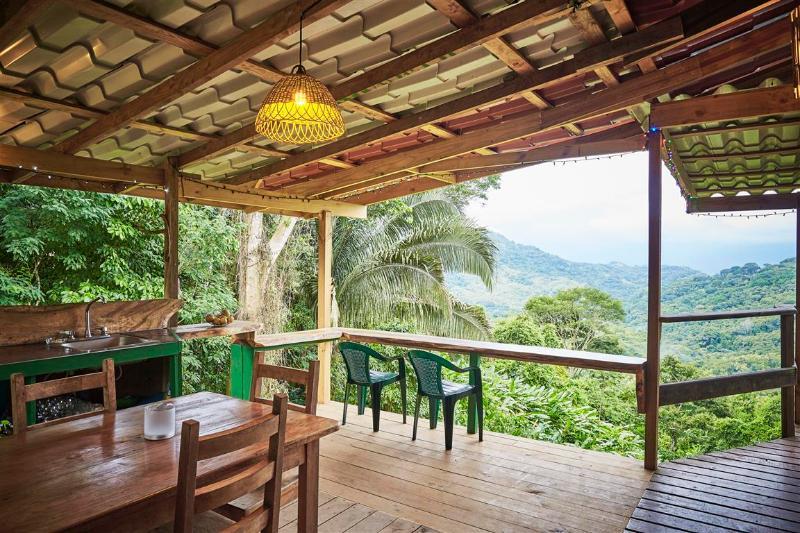 Amazing outdoor kitchen!