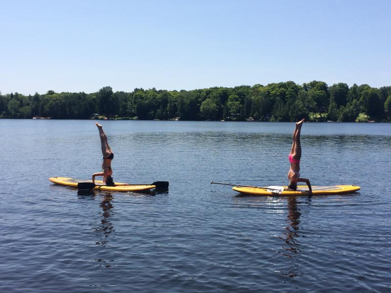 Stand-up-Paddle Boards, very versatile and so much fun!