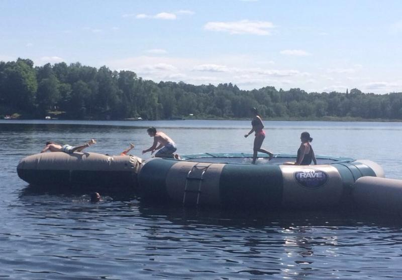 New Water Trampoline: Fun for the Whole Family!