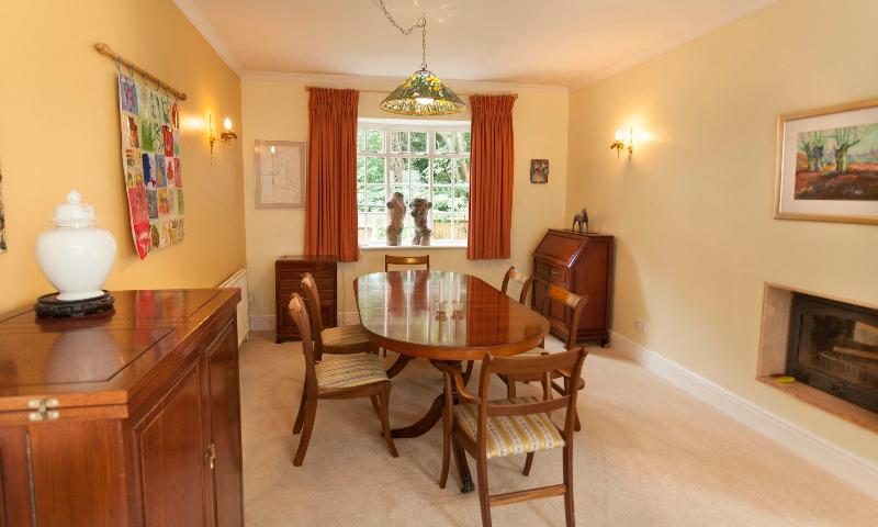 Our Dining room with seats for up to 6 people