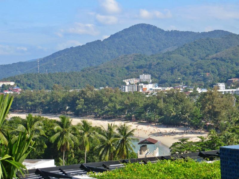 Stunning View Of Kata Beach From Private Rooftop Terrace
