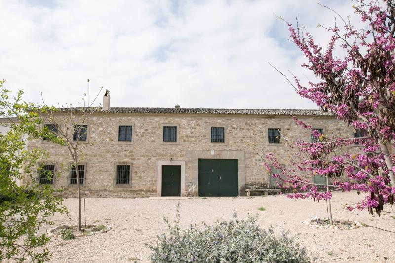 Façade principale de l'Hôtel Cortijo