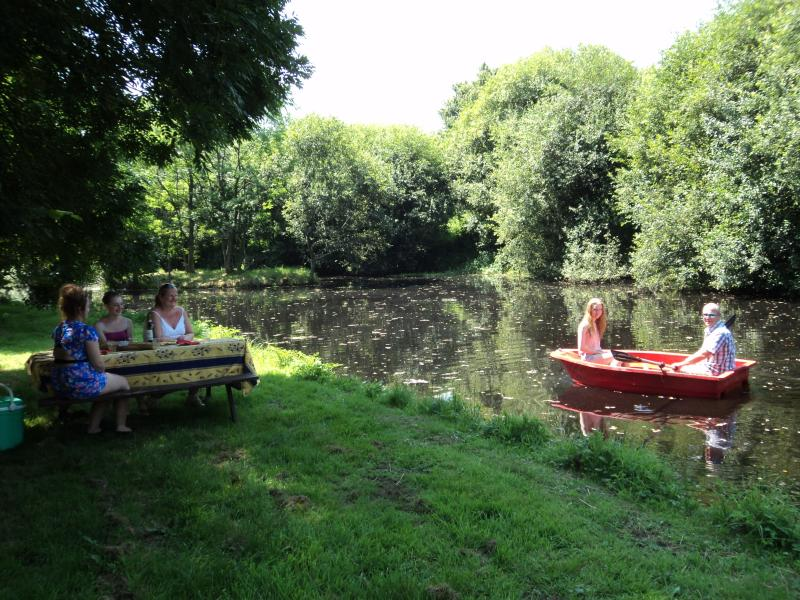 A Picnic By Our Lake And Fun On The Rowing Boat
