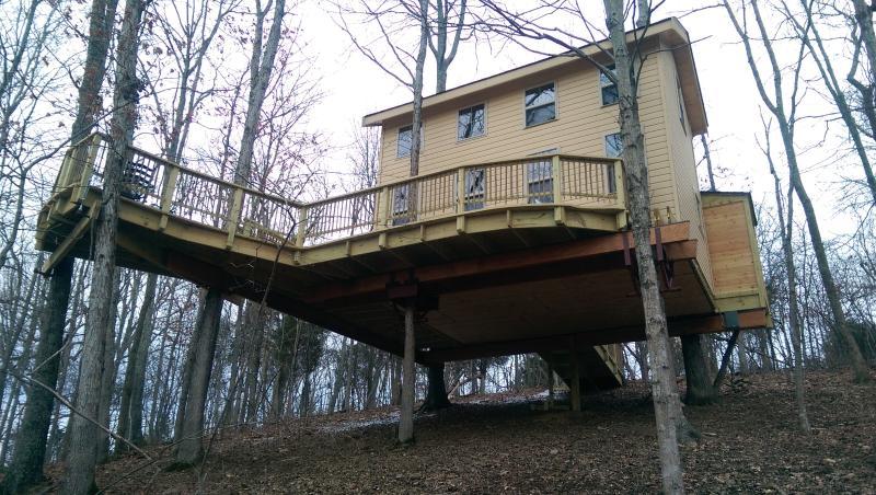 KY climber Tree House – semesterbostad i Germantown