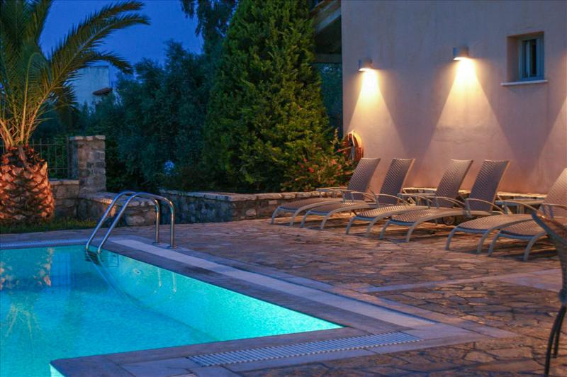 Relax by the pool in the evening