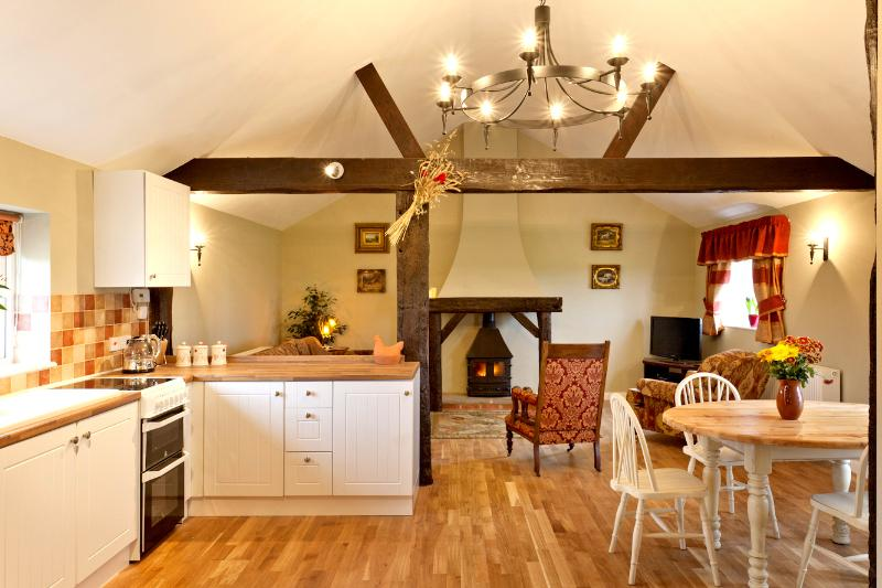 Open Plan Living Area - Oak Flooring