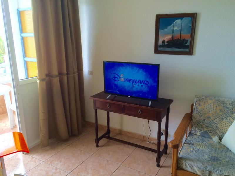 The apartment has been upgraded in 2015 with a new flat screen TV with over 50 international channel