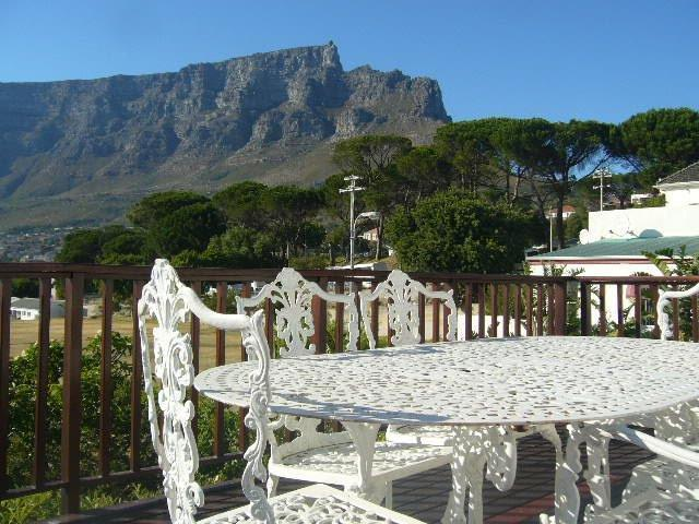 Incomparable view of Table Mountain, city and harbour from entertainment deck