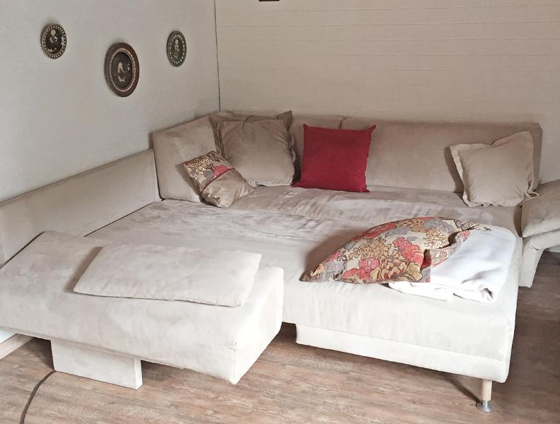 Sofa bed for 2 persons in the living room