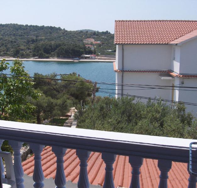 Lucija (2+2): balcony view