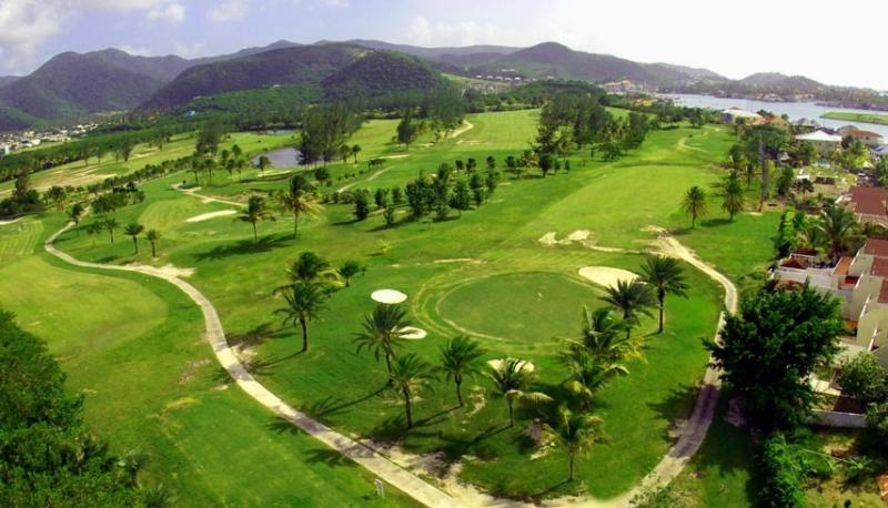 Jolly Harbour golf course