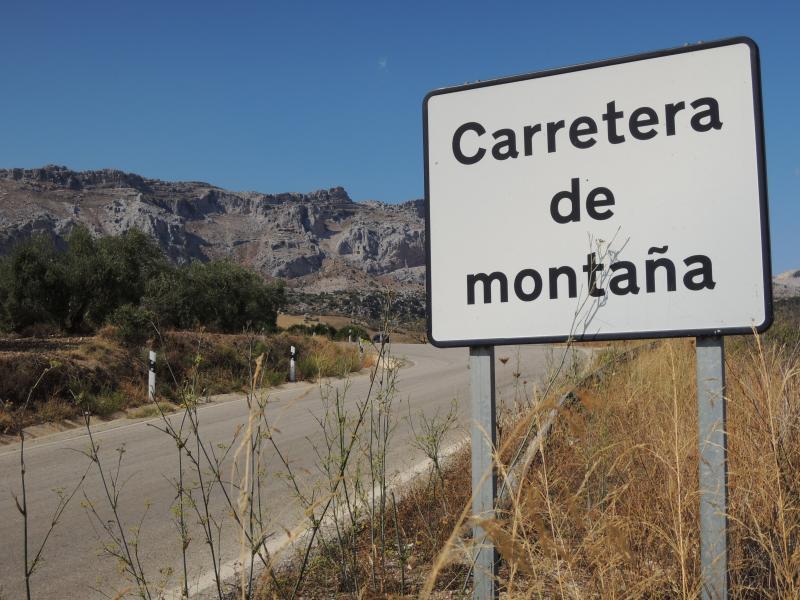 The road to Cortijo la solana.....