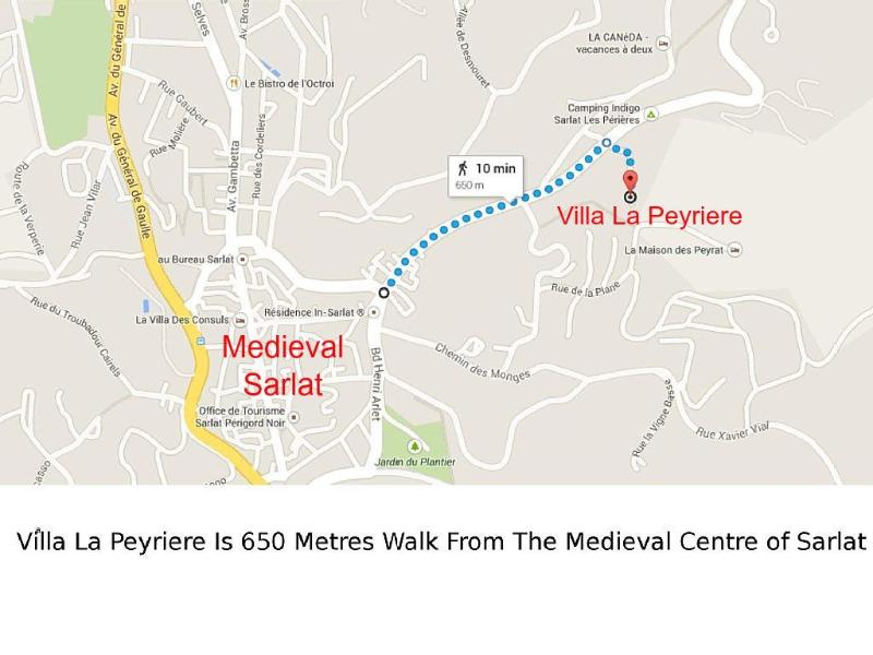 Just a Short Walk to the Medieval Centre.