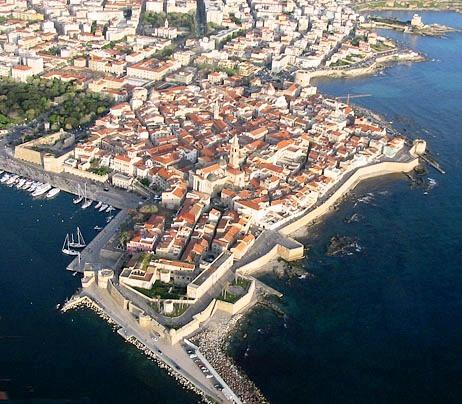 old town (aerial view)