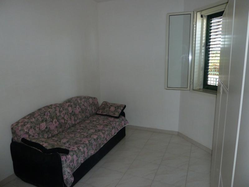Room with sofa bed