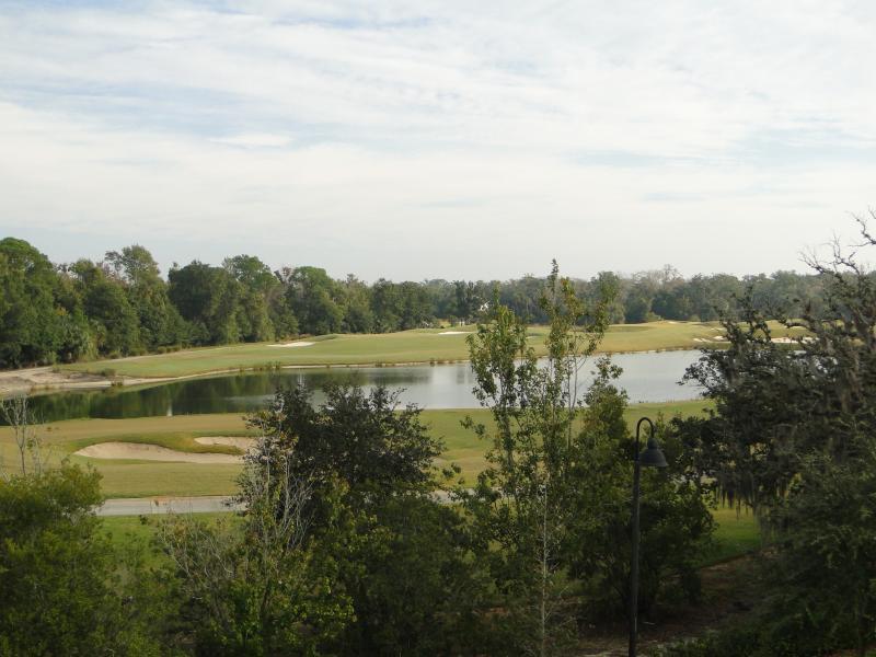 golfbanan ombordstigning parkeringsplats