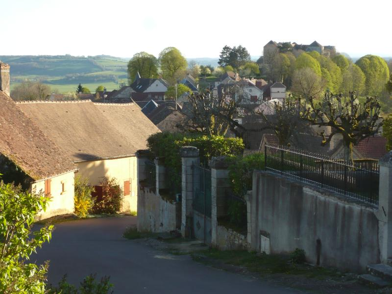 A VIEW OF THE VILLAGE OF MONT SAINT JEAN