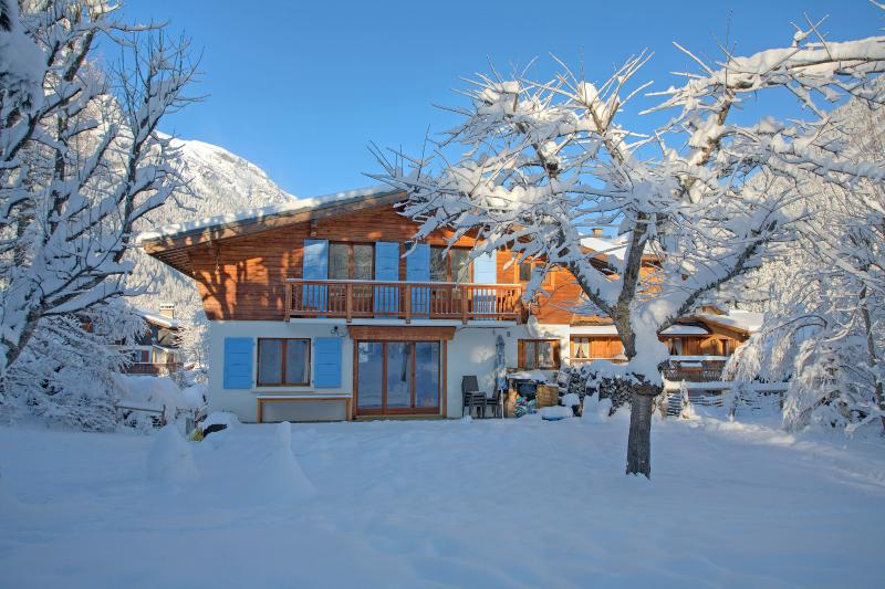 Picturesque Chalet Clara in the winter time