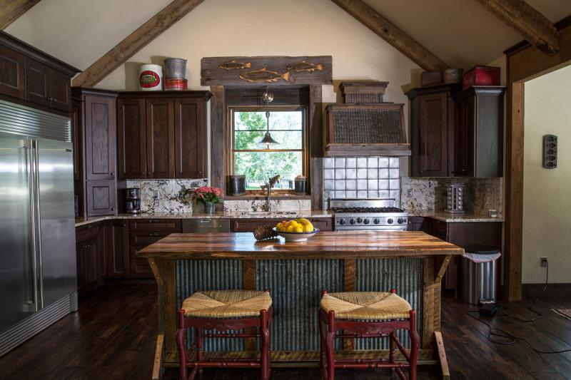Águas calmas Lodge - cozinha