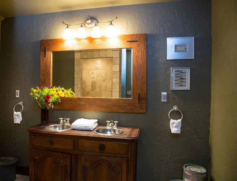 Águas calmas Lodge - banheiro