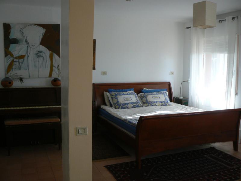 Studio Apt - King Size Bed (facing living room area)