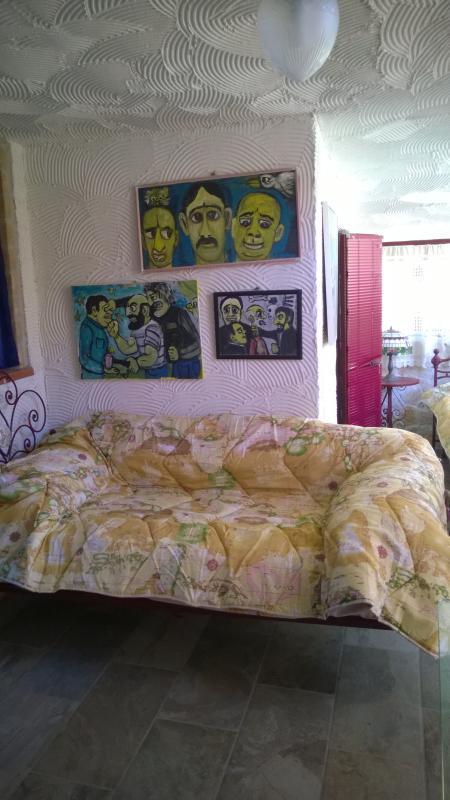 uno scorcio di Night Queen 1 - camera a quattro posti letto : un matrimoniale, due singoli