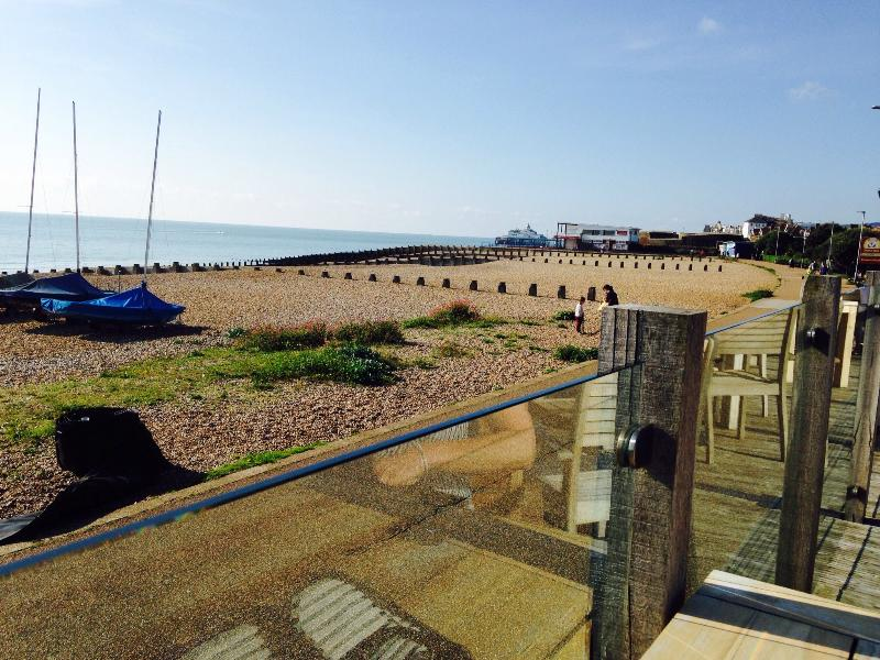 View from Beach Deck towards Eastbourne Pier.