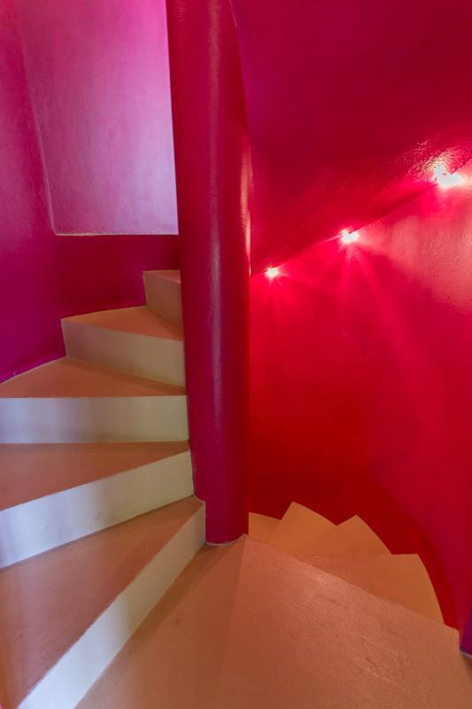Circular Staircase to Garden Suite