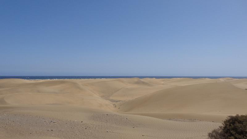 Famous Maspalomas Dunes 5 minutes walk from the Bungalow