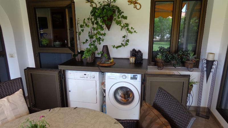 Hidden away Washer and Dryer