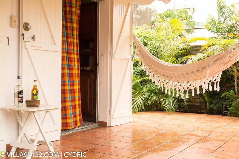 Hammock on the terrace