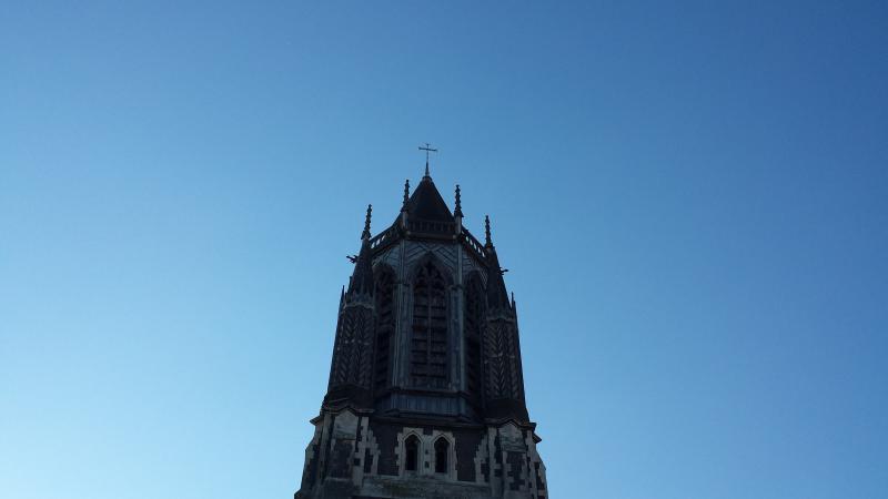 Vue d'église depuis le balcon