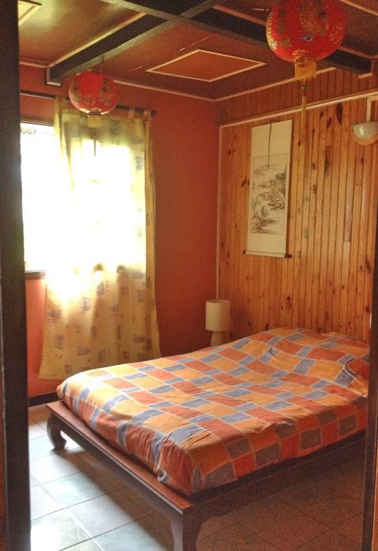 Una de las habitaciones con muy caliente