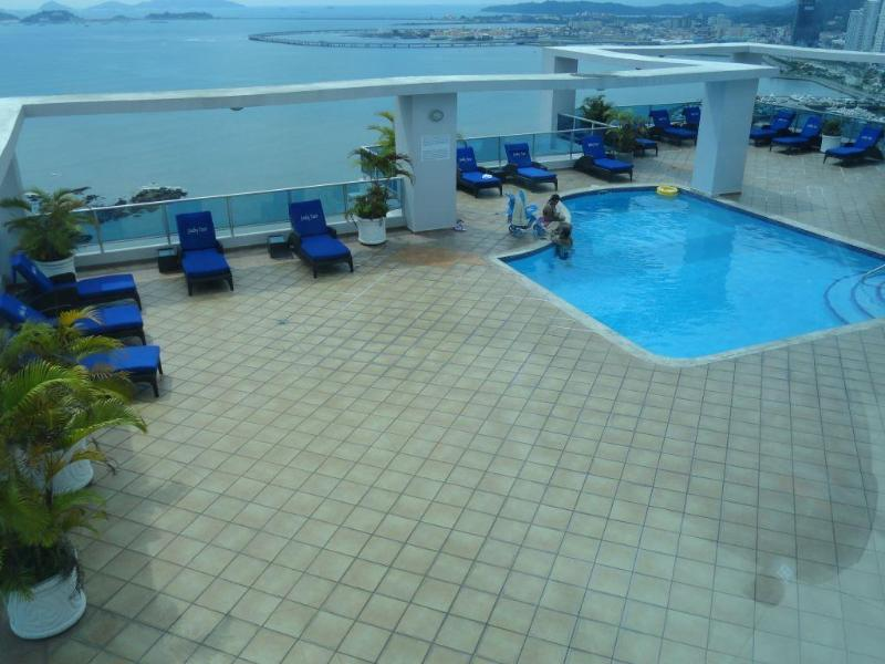 Pool on rooftop