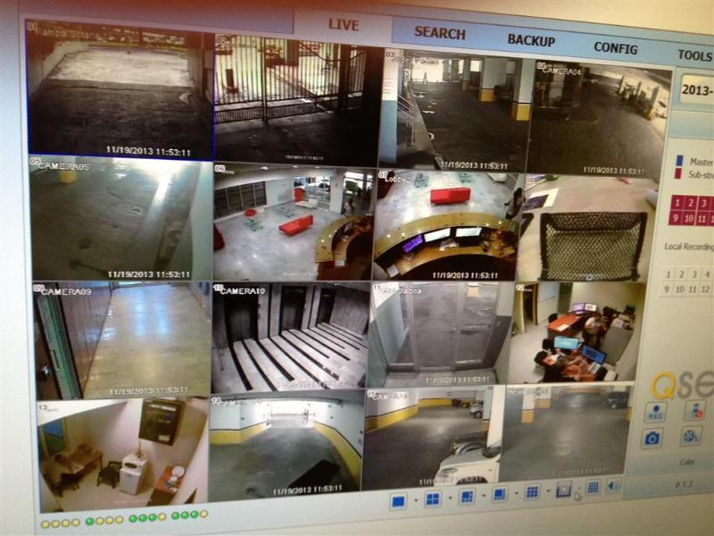 36 Security cameras