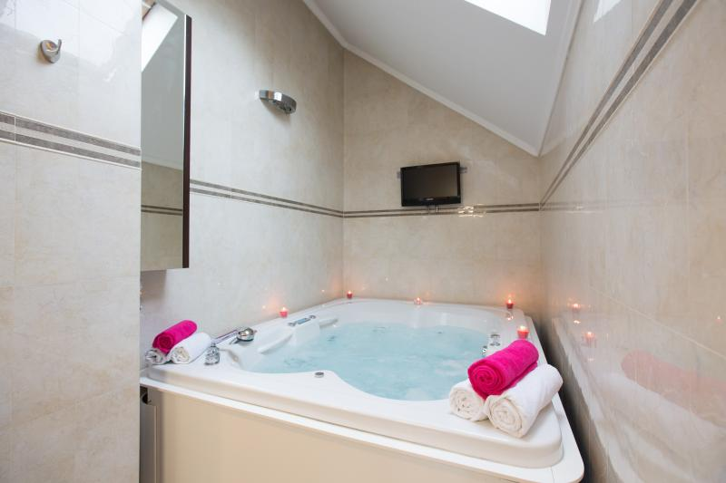 Luxury apartment with a bigest Jacuzzi in town, vacation rental in Zagreb