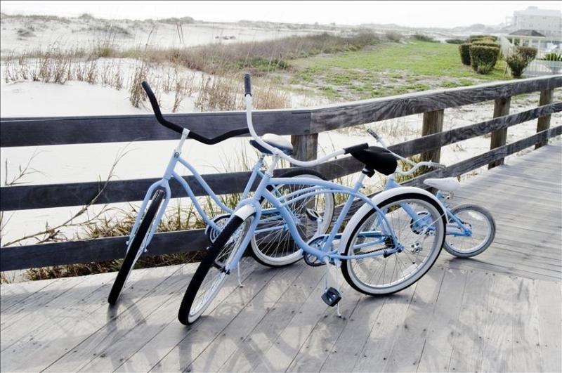 We offer bikes in varying sizes
