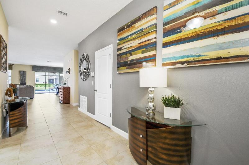 vacation home rental interior view