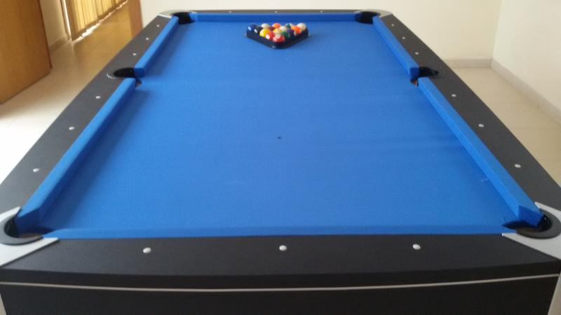 Pool Table is air-conditioned room