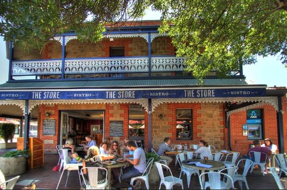The Store; a wonderful cafe only 100m from your door; great coffee and cafe food