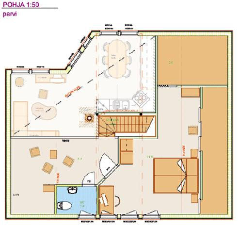 Loft floor layout