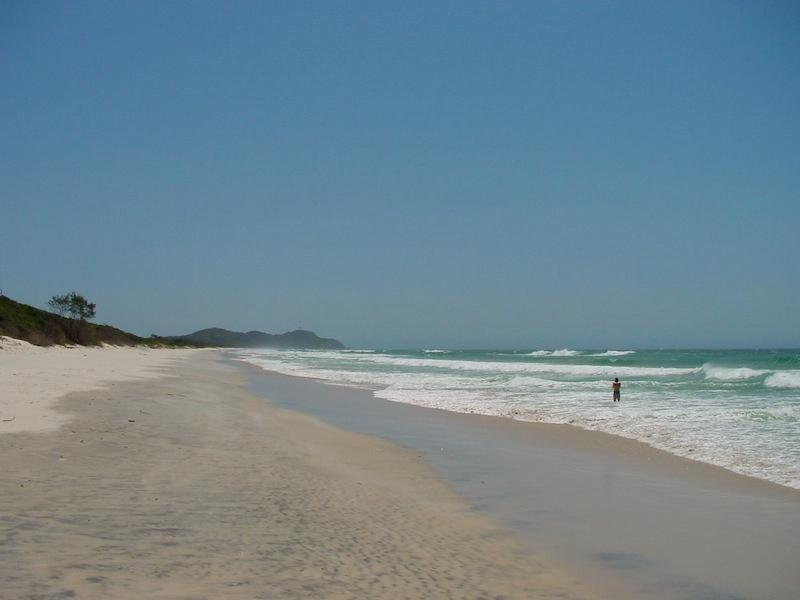 Tallow beach great for long walks or bicycle rides