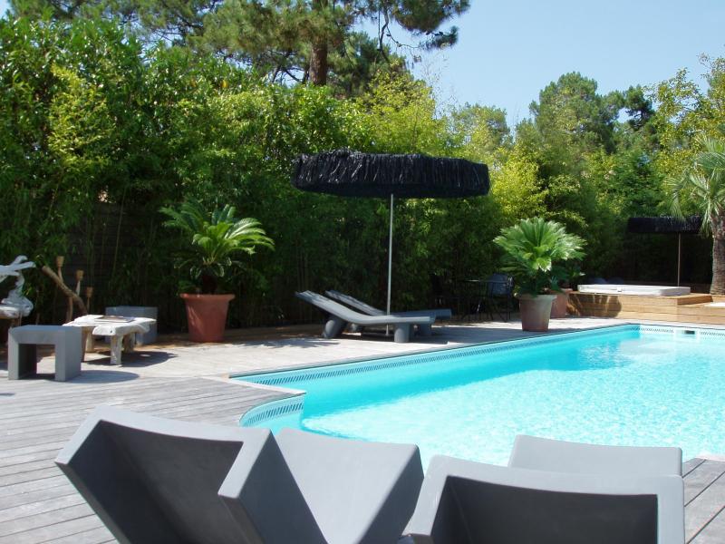 Magnifique villa, très belles prestations, piscine chauffée, Spa. Bassin d'Arcachon, Pyla/mer