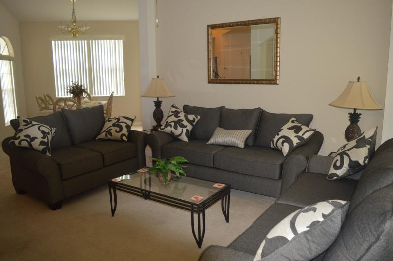 Living Room with 3 settees